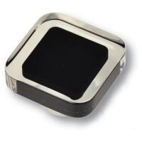 697NE5 Ручка-кнопка квадратная модерн, черный