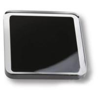 697NE7 Ручка кнопка квадратная модерн, черный