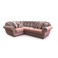 Мебельная ткань велюр PALAZZO Stripe Pink (Палаззо Страйп Пинк)