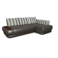 Мебельная ткань велюр PALAZZO Stripe Grey (Палаззо Страйп Грэй)