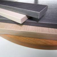 Обработка сложной детали кромкой ПВХ, АБС 0,4мм