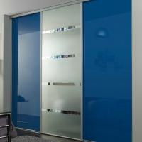 Изготовление дверей-купе с наполнением стекло, зеркало