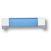 7777.0128.021.186 Ручка скоба детская, цвет синий 128 мм
