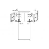 Расширитель 20 мм для лифта SE08, отделка серая