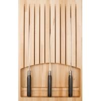 80730001450 Ёмкость в базу 300мм OTTAVAGRADO для кухонных ножей, бук, ящик BLUM TANDEMBOX глубиной 450мм