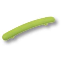 02.0478.128.069 Ручка скоба детская, цвет салатовый 128 мм