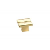 8142/100 Ручка-кнопка, отделка золото глянец