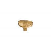 8491-200 Ручка кнопка современная классика, матовое золото