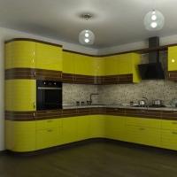 Кухонный гарнитур 181, любые размеры, изготовление на заказ