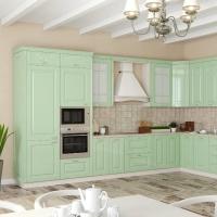 Кухонный гарнитур 20, фасады эмаль, любые размеры, изготовление на заказ