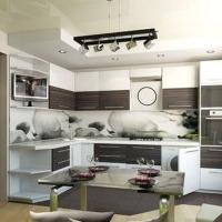 Кухонный гарнитур 243, любые размеры, изготовление на заказ