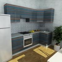 Кухонный гарнитур 248, любые размеры, изготовление на заказ