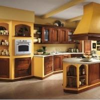 Кухонный гарнитур 26, фасады массив Италия, любые размеры, изготовление на заказ