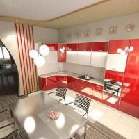 Кухонный гарнитур 302, любые размеры, изготовление на заказ