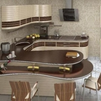 Кухонный гарнитур 326, любые размеры, изготовление на заказ