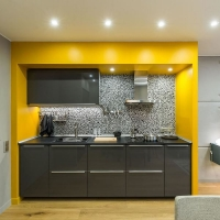 Кухонный гарнитур 329, фасады пластик, любые размеры, изготовление на заказ