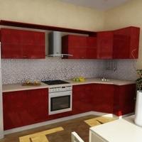 Кухонный гарнитур 383, любые размеры, изготовление на заказ