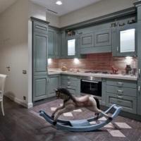 Кухонный гарнитур 395, любые размеры, изготовление на заказ