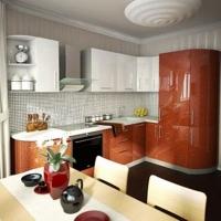 Кухонный гарнитур 487, любые размеры, изготовление на заказ