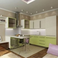Кухонный гарнитур 534, любые размеры, изготовление на заказ