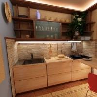 Кухонный гарнитур 554, любые размеры, изготовление на заказ