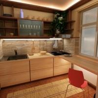 Кухонный гарнитур 659, любые размеры, изготовление на заказ