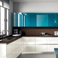Кухонный гарнитур 9, фасады эмаль, любые размеры, изготовление на заказ