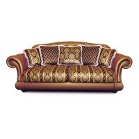 Мебельная ткань жаккард CHATEAU Losange Chocolat (Шато Лёсандж Чёколат)