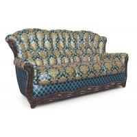 Мебельная ткань жаккард CHATEAU Monotone Cobalt (Шато Монотон Кобалт)