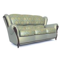 Мебельная ткань жаккард CHATEAU Losange Azur (Шато Лёсандж Азур)