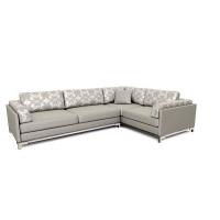 Мебельная ткань жаккард NORMANDIA Check Grey (Нормэндия Чек Грэй)