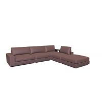 Мебельная ткань жаккард NORMANDIA Check Lilac (Нормэндия Чек Лайлэк)