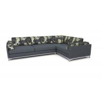 Мебельная ткань шенилл YAREN kombin grey(ЯРЭН Комбин Грэй)