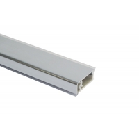 Бортик прямоугольный H.12 алюминий полированный, к столешнице 8STEPEN L=4200