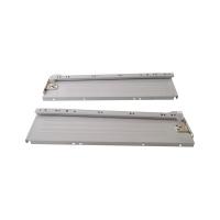 Боковины Firmax с роликовыми направляющими, H=118 мм, L=400мм, серый RAL7004, (4 части)