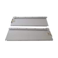 Боковины Firmax с роликовыми направляющими, H=150 мм, L=400мм, серый RAL7004, (4 части)
