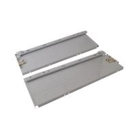 Боковины Firmax с роликовыми направляющими, H=150 мм, L=450мм, серый RAL7004, (4 части)