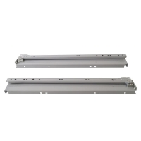 Боковины Firmax с роликовыми направляющими, H=54 мм, L=500мм, серый RAL7004,(4 ч.)