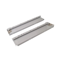 Боковины Firmax с роликовыми направляющими, H=86 мм, L=350мм, серый RAL9003, (4 части)
