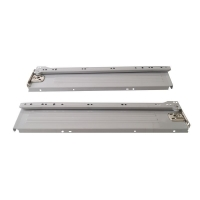 Боковины Firmax с роликовыми направляющими, H=86 мм, L=400мм, серый RAL9003, (4 части)