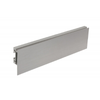 Профиль горизонтальный L=4080, отделка сталь шлифованная