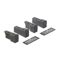 Комплект креплений для ящика под мойку Firmax Newline высота 199 мм, серый