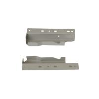 Комплект соединителей задней стенки Firmax высота 135 мм, под 1 рейлинг для ящика Newline, серый