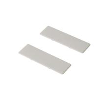 Комплект заглушек (2 штуки) для ящика Newline без логотипа, белый