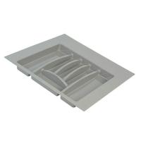 Лоток д/столовых приборов Firmax Alpha, база 500-550мм, серый