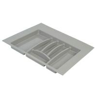 Лоток д/столовых приборов Firmax Alpha, база 600мм, серый