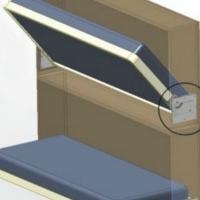 Механизм трансформации поршневой для яхт и автодомов
