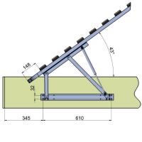 90A1000N Механизм подъема ортопедического основания двуспальной кровати ФЕРРО
