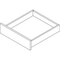 Стандартный ящик без рейлингов, плавное закрывание, 270 мм