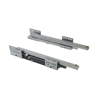 Комплект направляющих PUSH-TO-OPEN Firmax 450 мм (левая, правая) для ящика Newline